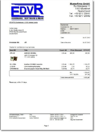 how to create an invoice in quickbooks point of sale